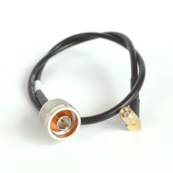 Coax Patch Cord 2-ft RP-SMA / N-male