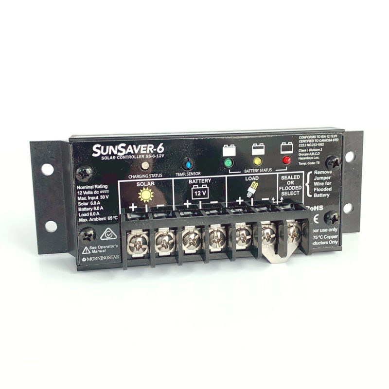 SUNSAVER-6 Solar Charge Controller